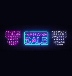 Garage sale discount sale concept vector