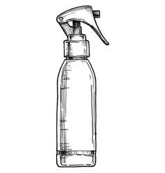 Hair spray vector