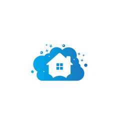 House cleaning logo vector