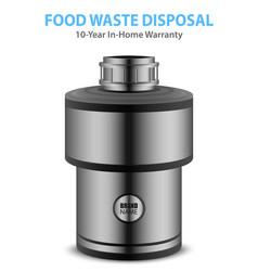 Realistic food waste disposer vector