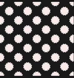 Seamless texture abstract floral geometric pattern vector