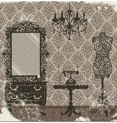 boudoir vector image vector image