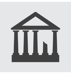 Acropolis icon vector image