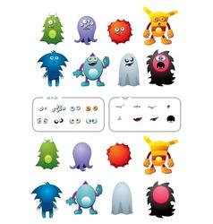 Monster pack vector