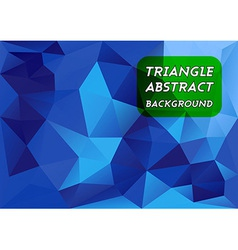 Blue Triangles vector image