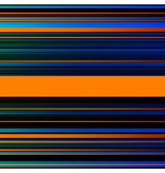 Abstract striped blue brown and orange background vector