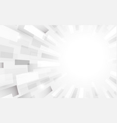 abstract white and grey modern square shape vector image