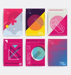 Bright design poster vector