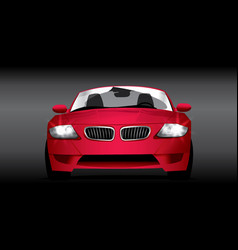 Car red vector