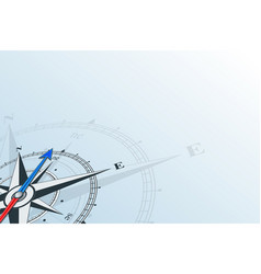 Compass northeast background vector