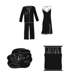 Dreams and night symbol vector