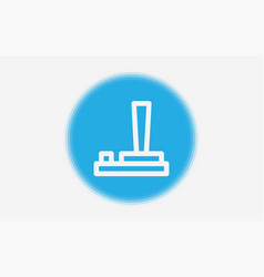 joystick icon sign symbol vector image
