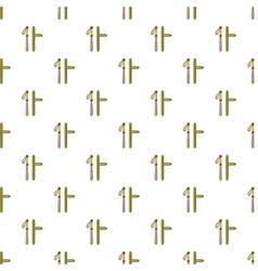 Police baton pattern cartoon style vector