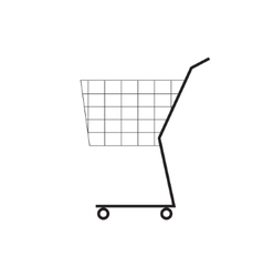 Shooping cart symbol icon vector