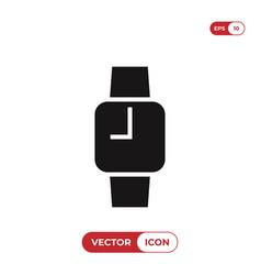 smartwatch icon vector image