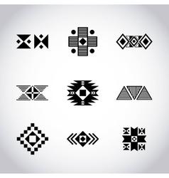 tribal texture design vector image