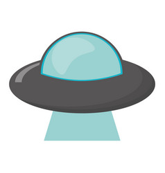 ufo vehicle spatial image vector image