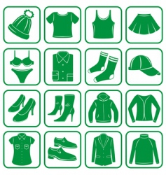 clothes set vector image