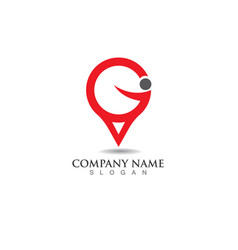 Compass signs and symbols logo vector