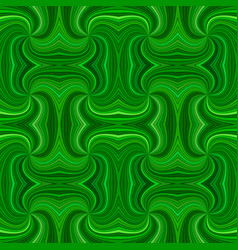 green seamless psychedelic geometrcial spiral vector image