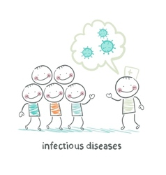 Infectious diseases talks about infection to vector