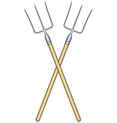 Pitchforks vector