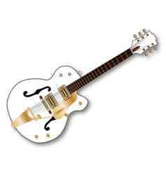 Country pickers guitar vector