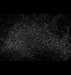 Grain abstract texture isolated on black vector