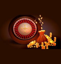 casino slot machine vector image