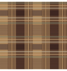Floral plaid pattern vector