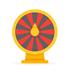 fortune wheel concept to win money and prizes vector image