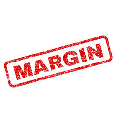 Grunge margin rounded rectangle stamp vector