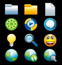 Smooth Icons vector