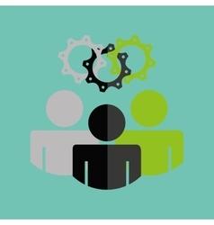 teamwork concept design vector image