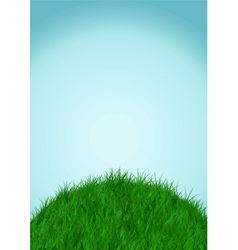 sky and ground background vector image