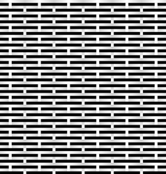black and white grid vector image