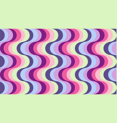 Fashionable wavy background vector
