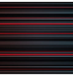 Abstract striped red and grey background vector