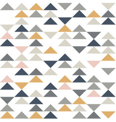 abstract triangle seamless pattern geometric vector image