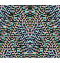Bright ethnic seamless pattern vector image