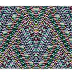 Bright ethnic seamless pattern vector