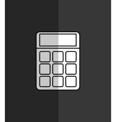 Calculator maths finance vector