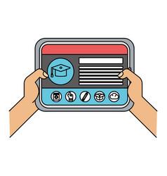Technology device cartoon vector