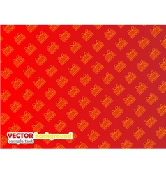 BACKGROUND COMMERCIAL PAPER CHRISTMAS GIFT vector image