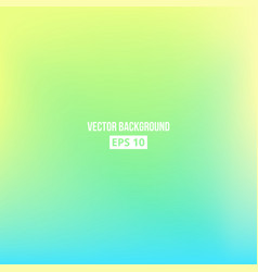 blue green yellow blur gradient vector image