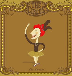 circus poster vector image