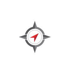 compass logo template vector image