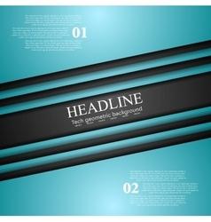Cyan turquoise corporate art design vector