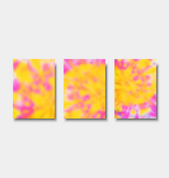 Hand painted tie dye blurred background vector
