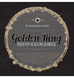 Logo design template Trade Sign Busines Label vector image